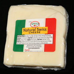 12 pkg  SWISS CHEESE CHUNKS