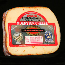 8 pkg MUENSTER CHEESE CHUNKS