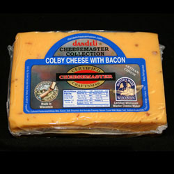 8 pkg COLBY BACON CHEESE CHUNKS