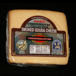 8 pkg SMOKED GOUDA CHEESE CHUNKS