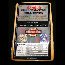 6 pkg SMOKED CHEDDAR CHEESE CHUNKS