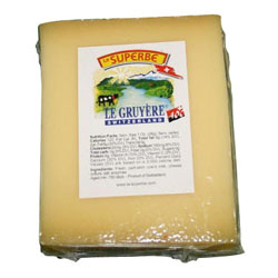10 pkg SWISS GRUYERE CHUNKS