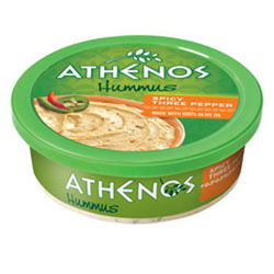 3 PEPPER HUMMUS