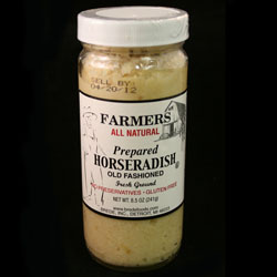 ALL NATURAL HORSERADISH  8.5 Oz